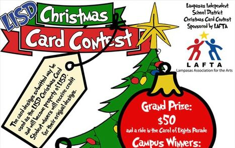 Christmas card contest ad