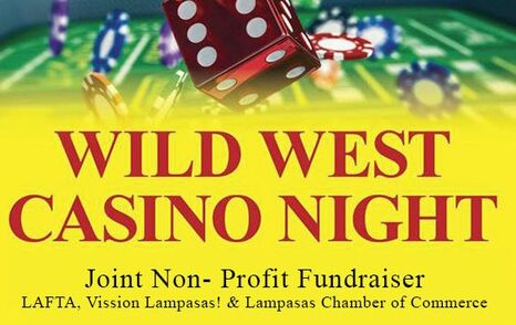 Wild West Casino night ad